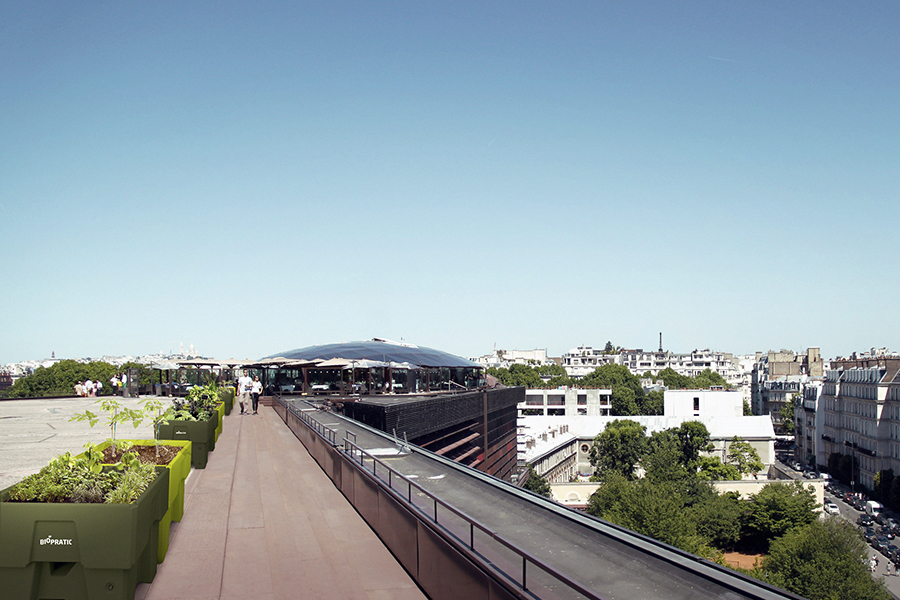 Jardins sur toits