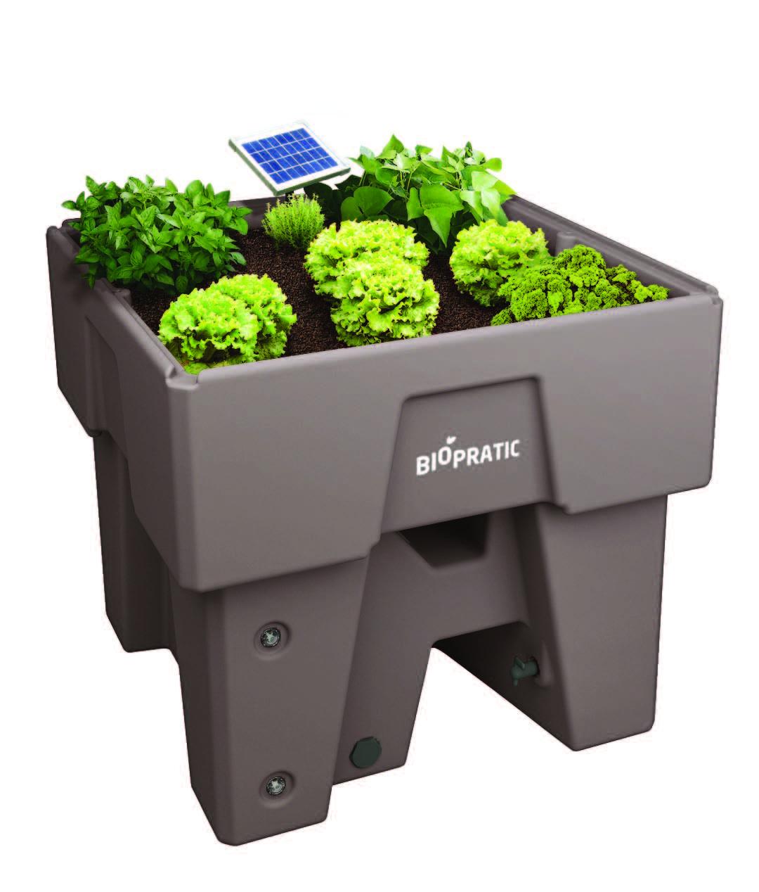 Jardin potager surélevé Biopratic en situation